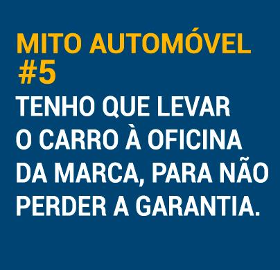 Mito automóvel #5