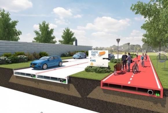 Empresa holandesa vai criar estradas de plástico