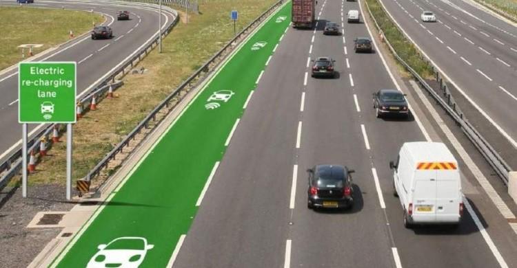 Os veículos elétricos vão poder carregar a bateria em autoestrada