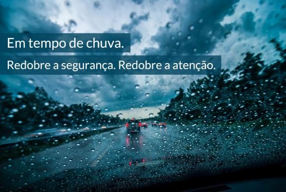 6 conselhos de segurança automóvel em tempo de chuva